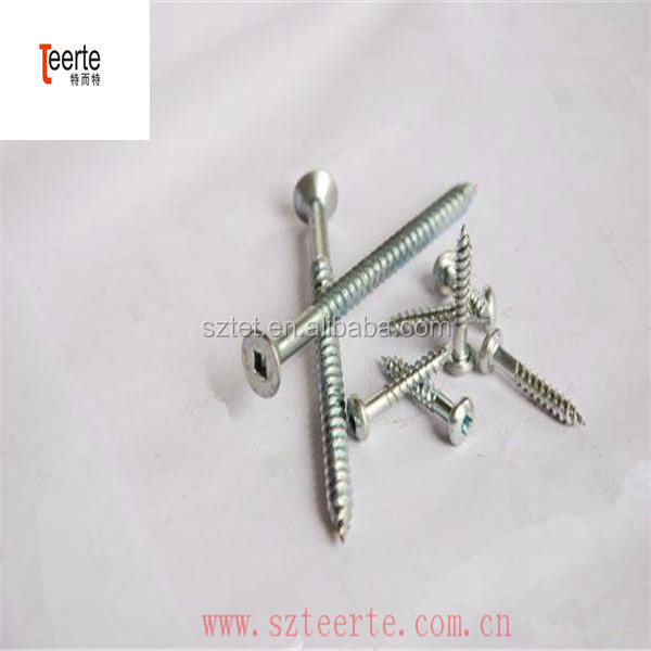 Square Drive Drilling and Tapping Captive Panel Fastener Screw