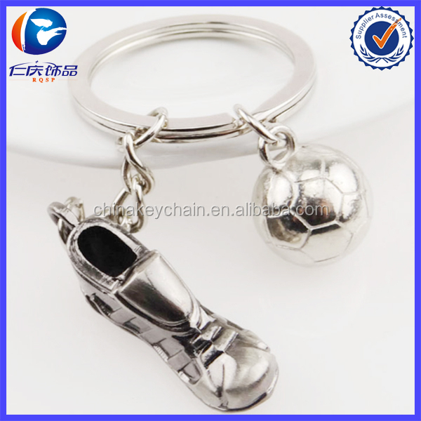 Fashion world cup football keychain with feet and football