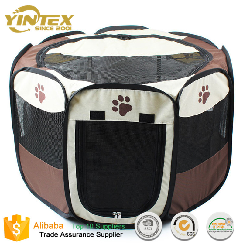 Top Quality foldable Pet Dog Playpen Puppy Exercise Fence 8 Panel Portable pet tent