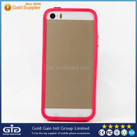 [GGIT]2015 Colorful Silicone Case For iPhone 5S Bumper Cover