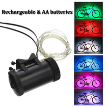 Super Bright Bicycle Bike Rim Lights Personalized LED Colorful Wheel Lights Bicycle Wheel Light String