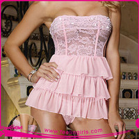 Women Wholesale Fashion Sexy Young Girls Lingerie Babydoll