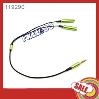3.5mm Extension Earphone Headphone Audio Splitter Cable Adapter
