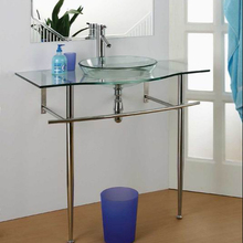 Simple Style Cheap Stainless Steel Single Glass Wash Basin