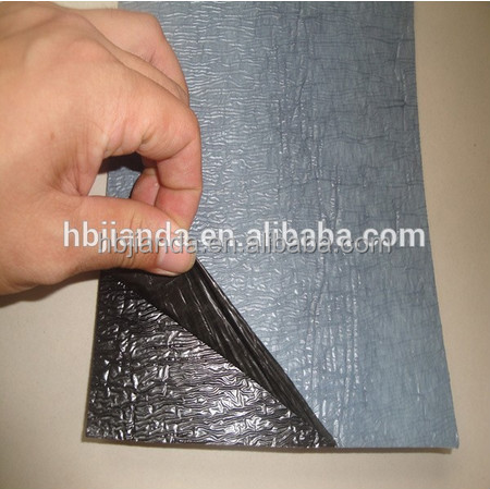 self-adheisve waterproof membrane for roof deck in china