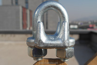 Rigging 450 wire rope clip galvanized drop forged hardware