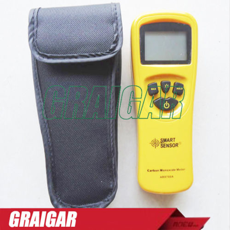 Smart Sensor AR8700A Digital Carbon Monoxide Meter CO Monitor Gas Detector Analyzer
