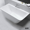 Resin stone portable bathtub price , very small bathtub