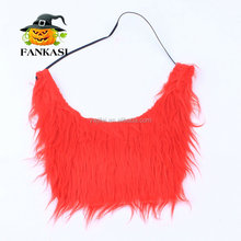 Wholesale Red Fake Beard for Party Costume