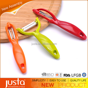 3pcs colorful potato peeler set
