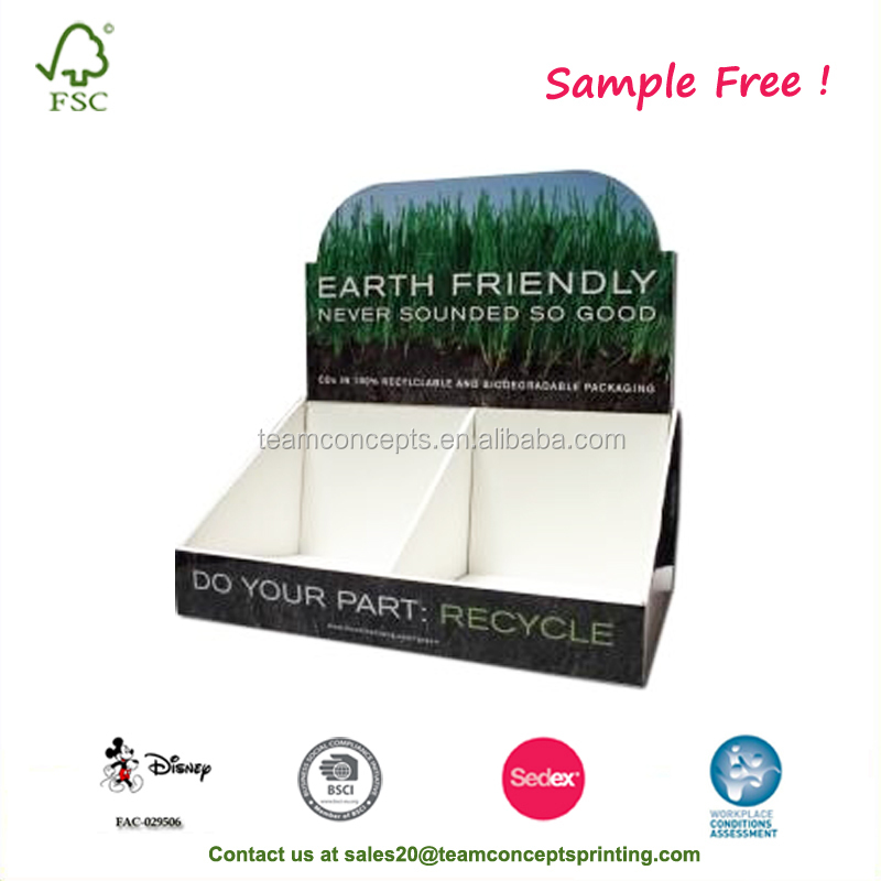 Paper Counter Display Carton Boxes