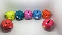 Fashion face kids piggy bank/coin saving box/money box