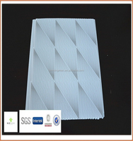 plastic skirting board and pvc panel