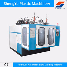 plastic extruder hydraulic type blow moulding machine price with pvc sale