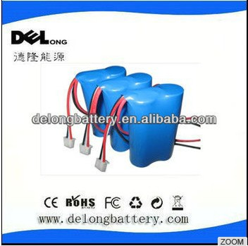 7.2v 18650 lithium battery pack for electric toy