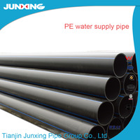 SDR11 25mm blue water supply pipe hdpe material for underground