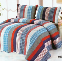 American cotton quilted bed covers
