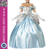 High Quality Sexy Costumes Deluxe Enchanting Princess Cinderella Adult Costume