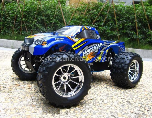 Remote control high speed petrol rc car body kits for adult