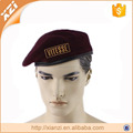 knitted wool air force beret new army wool keep warm winter beret cap