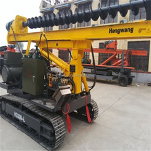 Bored piling equipment bore piling screw pile driver for sale