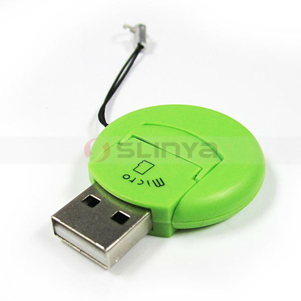 USB Micro Sim Card Reader with Logo Printing Service