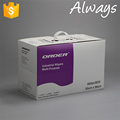 Kunshan ALWAYS production spunlace nonwoven perforated roll wipes
