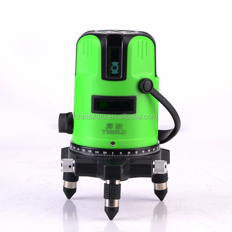 F2 Model Laser Level Meter Green Lines with Five Lines Automatic Placing Stable