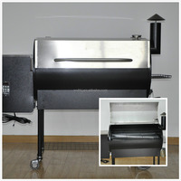 2016 New CE ,SGS & UL Approved Outdoor pellet BBQ Smoker /Grill.