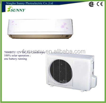 100% Solar Air Conditioner, split type air conditioner 9000btu solar ac- TKFR-26GW/DC