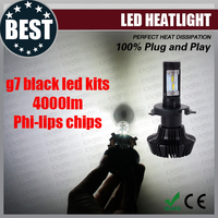 New arrival H7 H8 H9 H11 H16 9005 9006 9012 H4 H13 9004 9007 g7 auto led headlight bulb, motorcycle and car led headlight