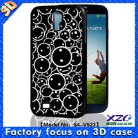 Full protection stereo print bumper case soft TPU case for samsung galaxy case for S3/S4/S5