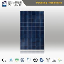 Perlight Polycrystalline PV Module 60cells 260w 270w Mono Solar Panel for Solar Power System