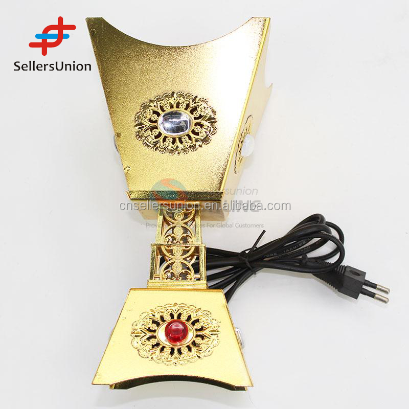 No.1 Yiwu agent commission sourcing agent hot selling Golden color cup shaped electric incense burner