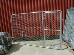 2015 new wholesale galvanized steel dog kennel