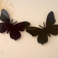 Xmas tree decoration plastic snowflakes butterfly