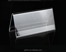 acrylic guest name display frame table number display seat number stand
