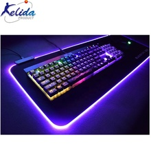 New Type Rgb Mouse Pad With LED light from OEM Factory