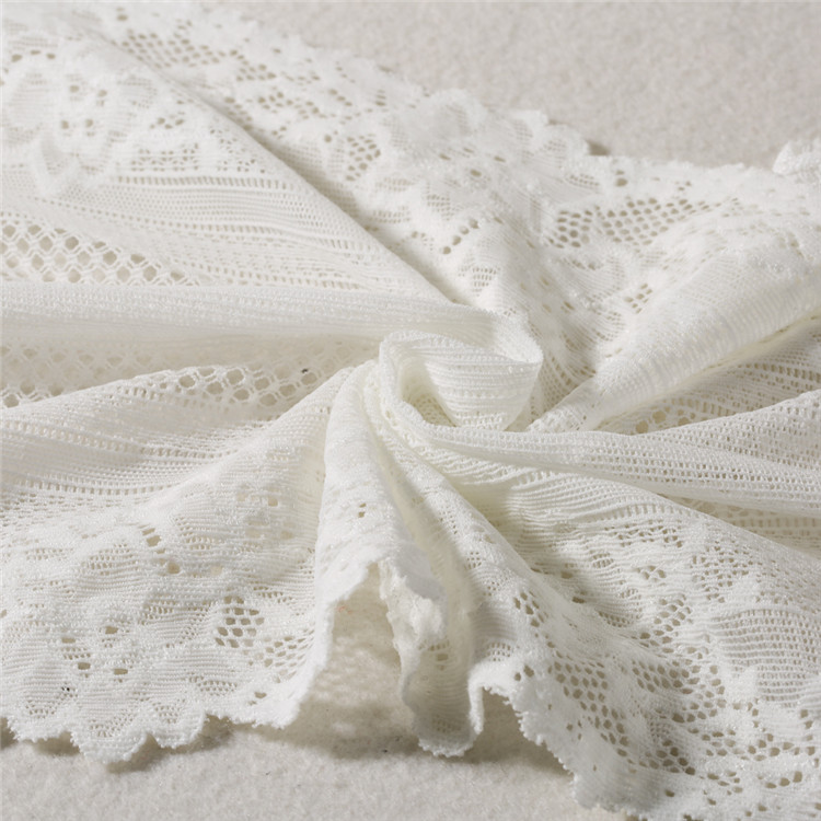 China Elegant Popular High Quality 100 polyester lace fabric