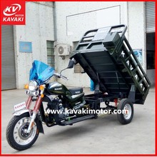KAVAKI Big Wheel Three Wheel Cargo tricycle / Electric Auto Rickshaw Scooter / China 3 Wheel Motorcycle with Windshield