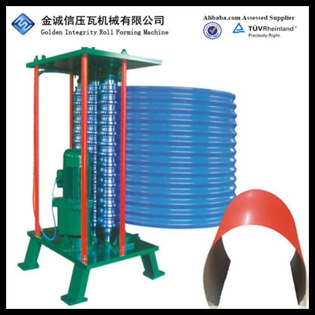 HOT!!!Electric Crimping Curve forming machine