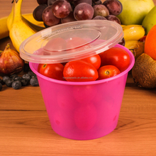 500ML Pink Plastic Food Container