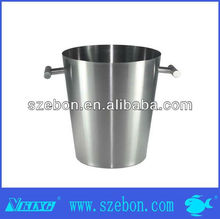 Single Wall Stainless Steel large Ice Bucket