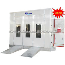 alibaba china CE proved spray paint booth china/cheap car paint booth/powder coating oven