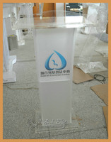 high quality clear acrylic church pulpit by Guihe custom design church podium