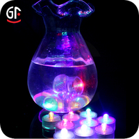 Alibaba Express Christmas Lighting Vases Waterproof Led Floating Candles