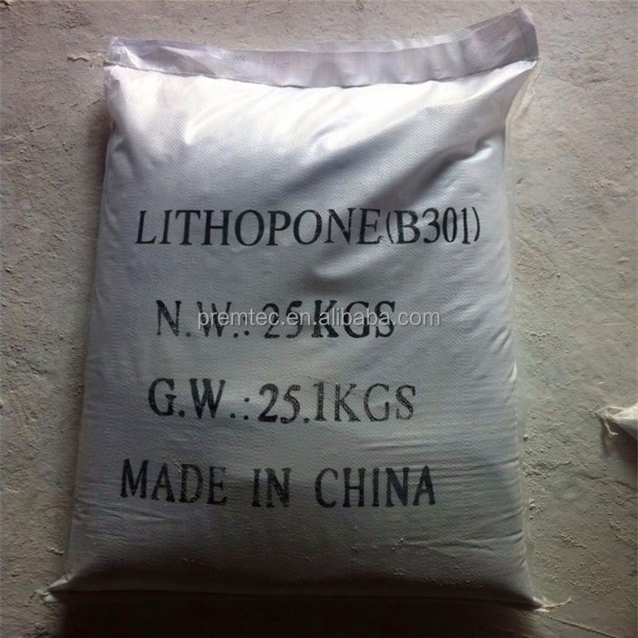 best price Lithopone B301 B311 for coating printing ink rubber plastic