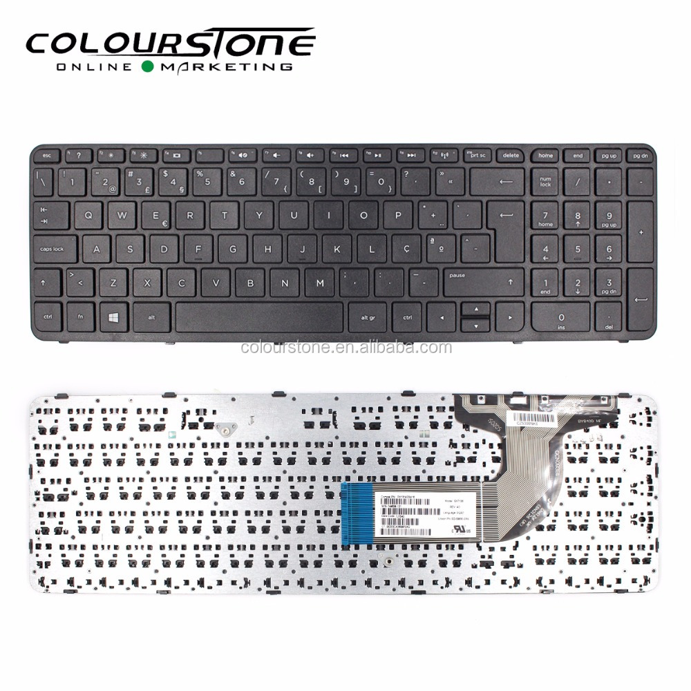 For HP <strong>15</strong>-E <strong>15</strong>-<strong>N</strong> PO Black with Frame Laptop keyboard