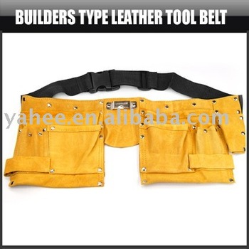 Builders Tyre Leather Tool Belt,YFT127A