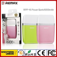 Reamx New Design 6000mAh Portable Power Bank for Phone